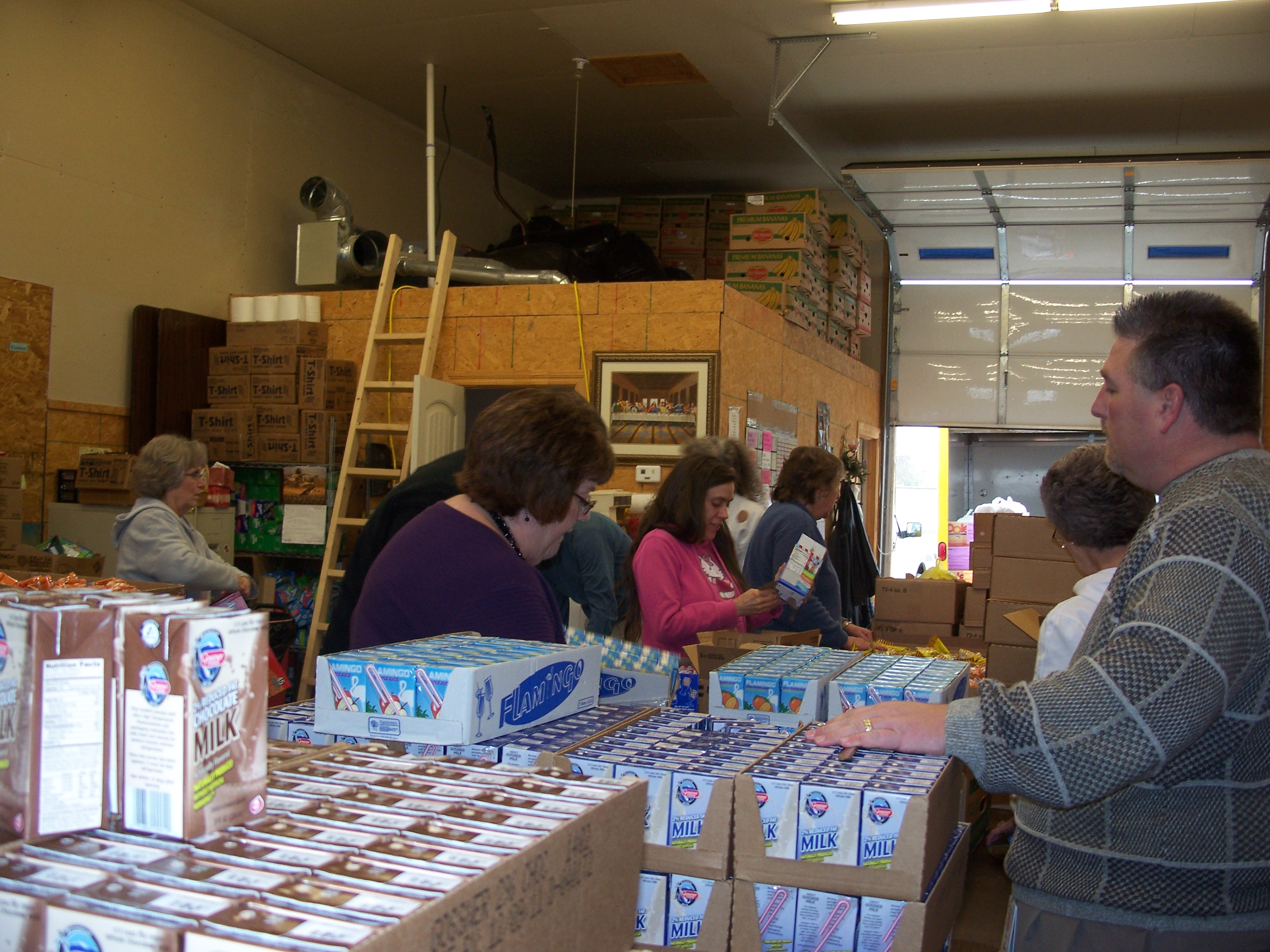 Agape' Mission and its expanding role in feeding the needy