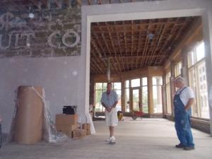 Pioneer Woman Building interior renovation