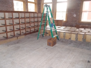 Items found in the Pioneer Woman Building will be re-purposed.
