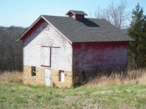Barn near Pawhuska