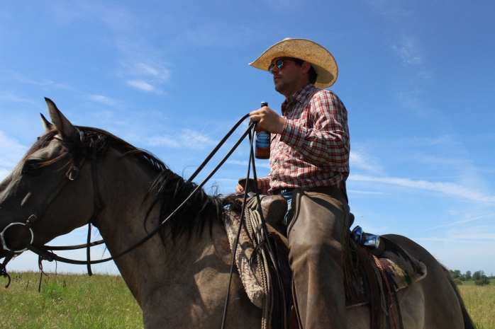 Cowboy on Z7 Bar Ranch
